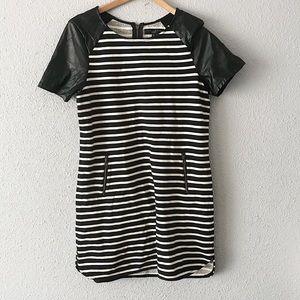 Sanctuary Clothing Black Striped Dress